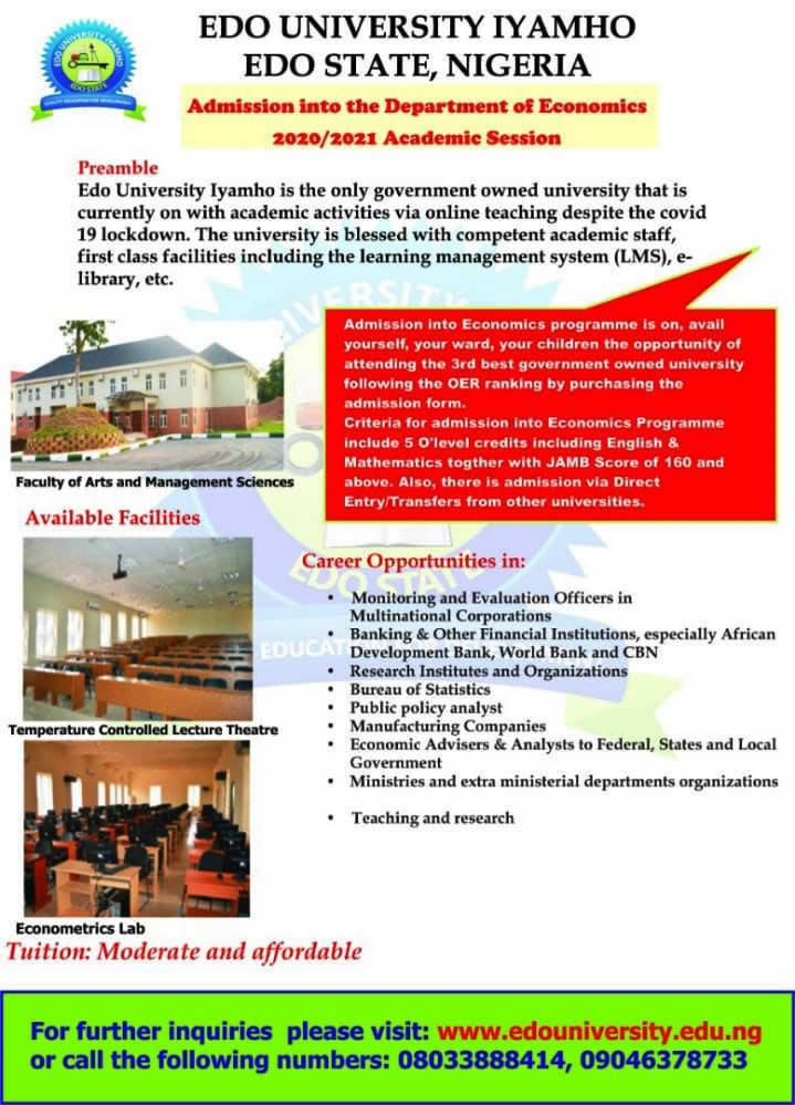 Edo University, Nigeria