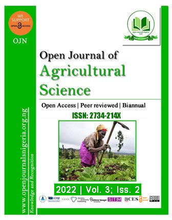 OJAS - Open Journal of Agricultural Science