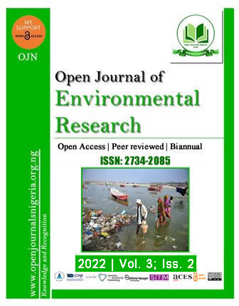 OJER - Open Journal of Environmental Research