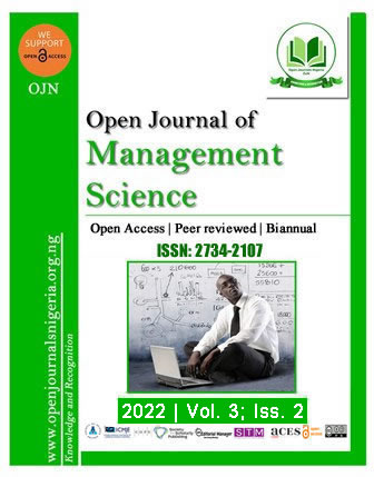OJMS - Open Journal of Management Science