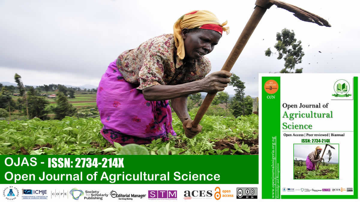 Open Journal of Agricultural Science