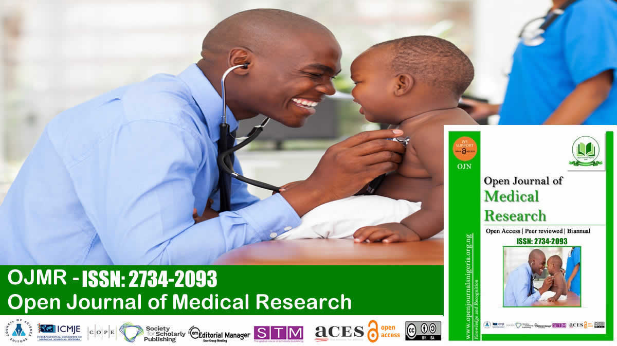 Open Journal of Medical Research