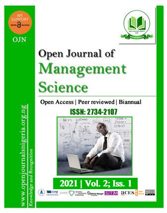 Open Journal of Management Science (OJMS)