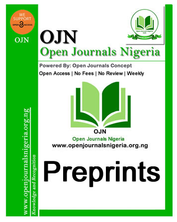 Open Journals Nigeria Preprints