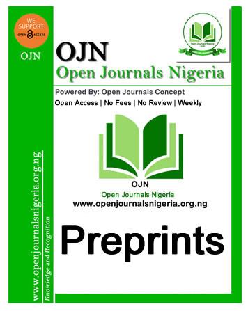 Open Journals Nigeria Preprints